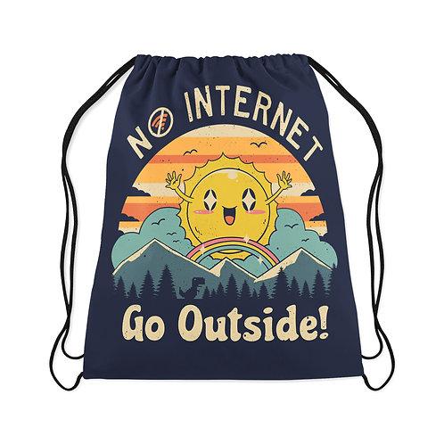 Drawstring Bag No internet