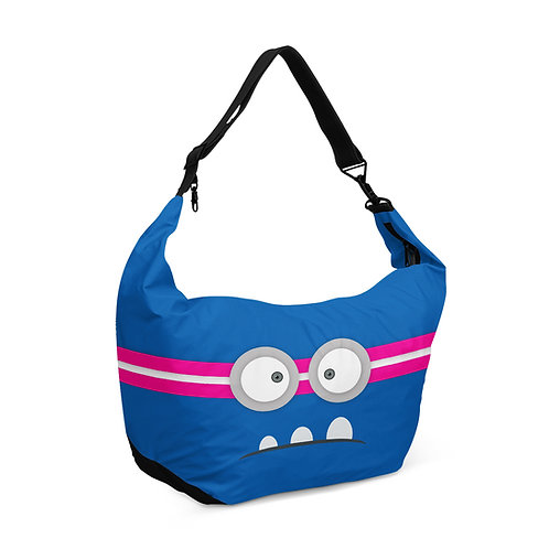 Crescent bag Angry Face