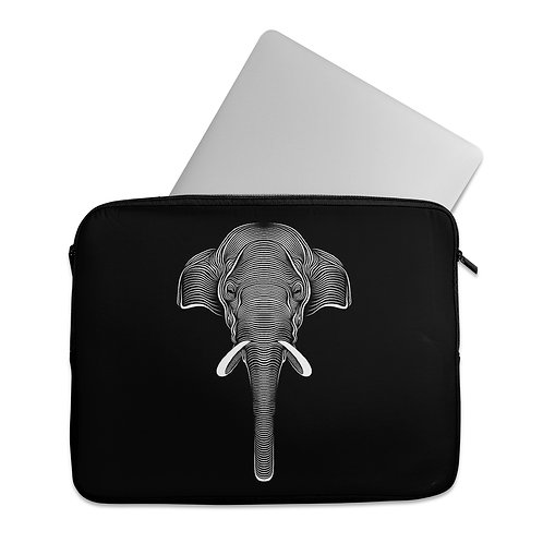 Laptop Sleeve Elephant ink