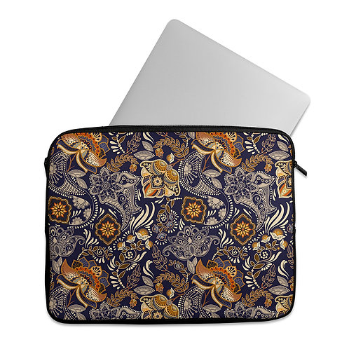 Laptop Sleeve Oldy Floral