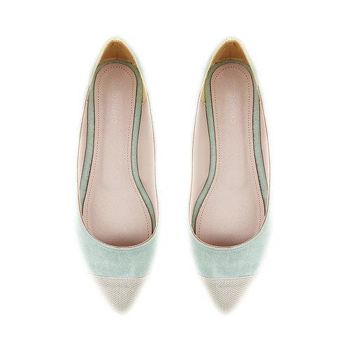 Pump LGreen Flat Women's Shoe