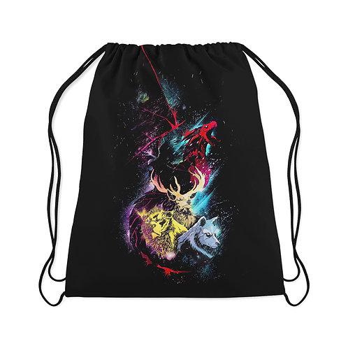 Drawstring Bag Abstract animals