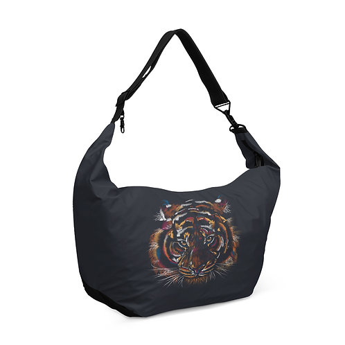 Crescent bag Tiger Head