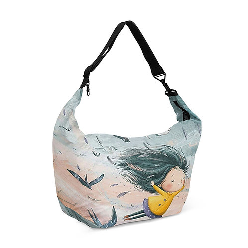 Crescent bag Fly With Me