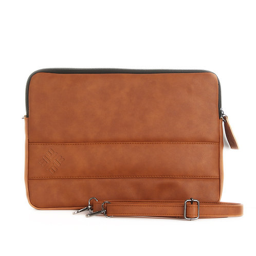 Havana Leather Laptop Sleeve
