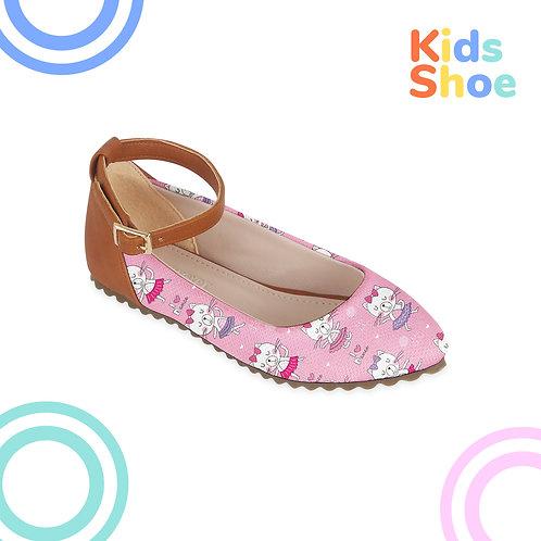 Kids Round Shoes Love Dance