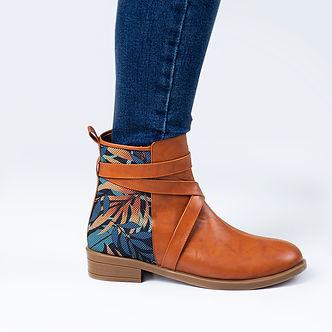 S Havana Strap Boots Blue leaf.jpg