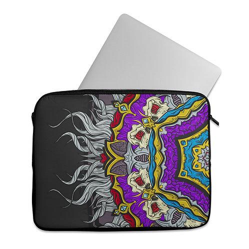 Laptop Sleeve Gothic Mandala