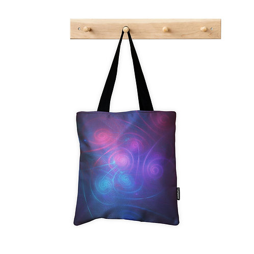 Tote Bag Space Abstract