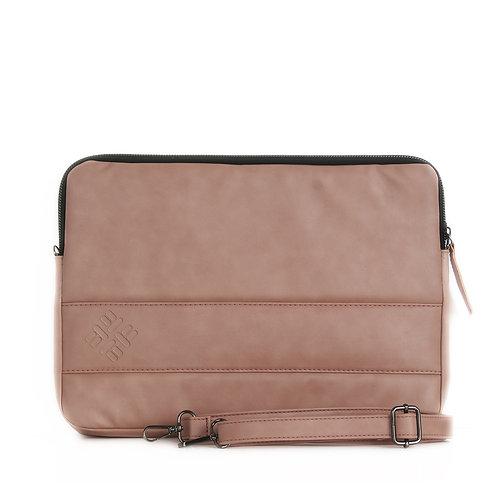 Rose Leather Laptop Sleeve