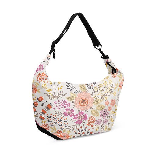 Crescent bag Floral Flowers