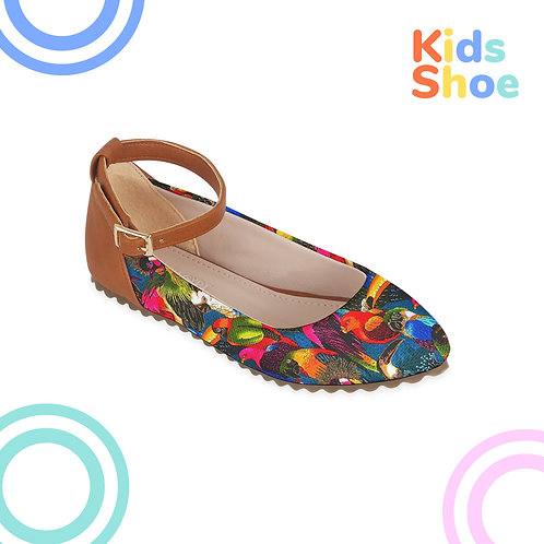 Kids Round Shoes Birds