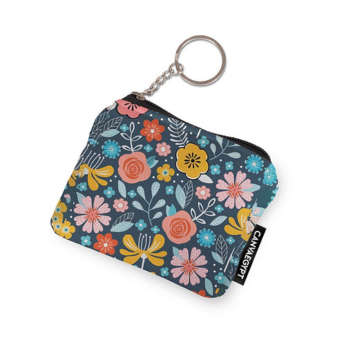 Coin Pocket flowers