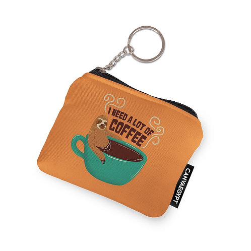 Coin Pocket I Need A Lot Of Coffee