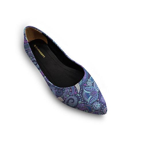 Flat Women's Shoe Floral