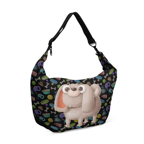 Crescent bag Poodle