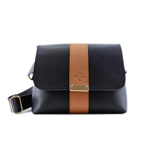 Black Women's Cross-Waist Bag