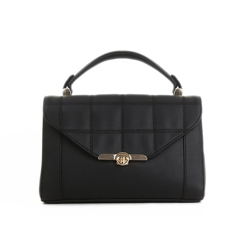 Black Fleming Soft Handbag