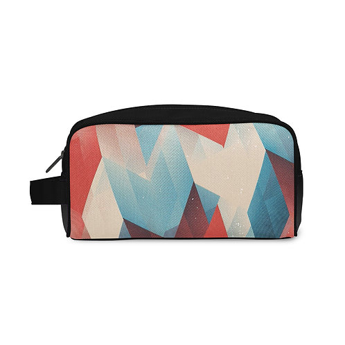 Travel Case Triangles Pattern