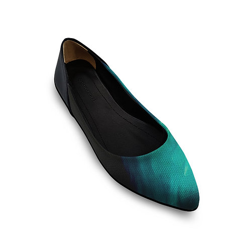 Flat Women's Shoe Outside