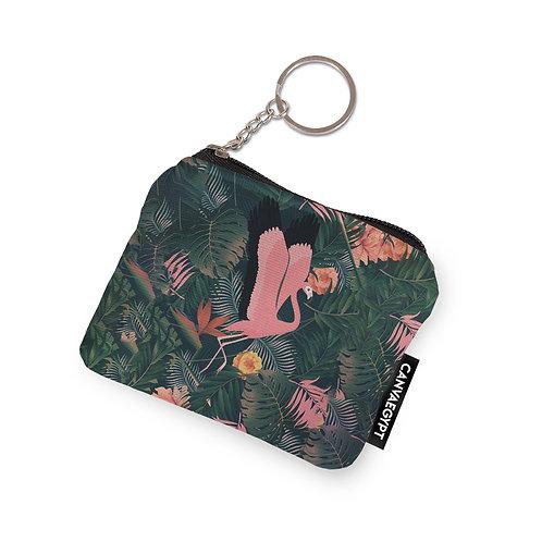 Coin Pocket Flamingo
