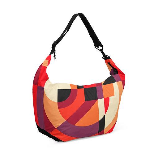 Crescent bag Geometric Red