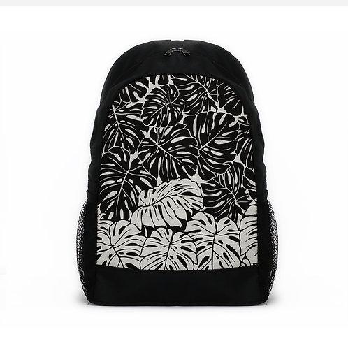 Sports Backpacks Leaf's Black and white