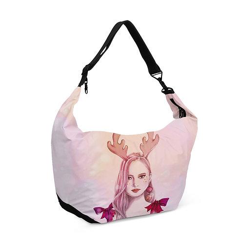 Crescent bag Christmas Girl
