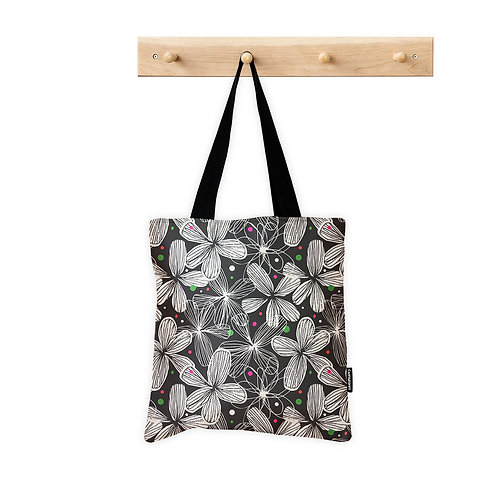 ToteBag Flowers Pattern 1