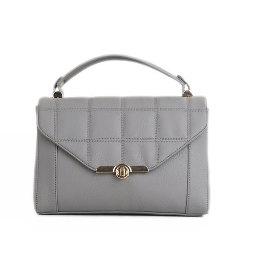 Grey Fleming Soft Handbag