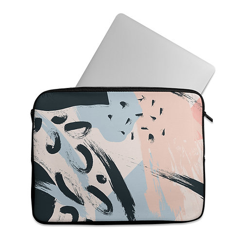 Laptop Sleeve Abstract Brushes