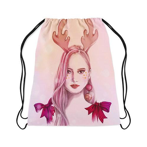 Drawstring Bag Oh deer