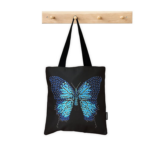 ToteBag Blue Butterfly