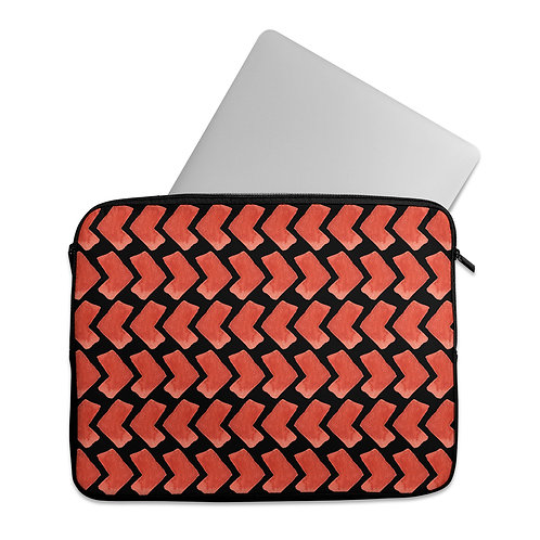 Laptop Sleeve Red African