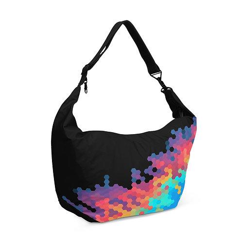 Crescent bag Hexagon colors