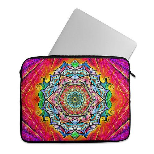 Laptop Sleeve Psychedelic Mandala