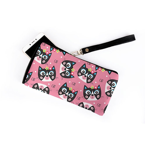 Mobil Case Cats Pattern