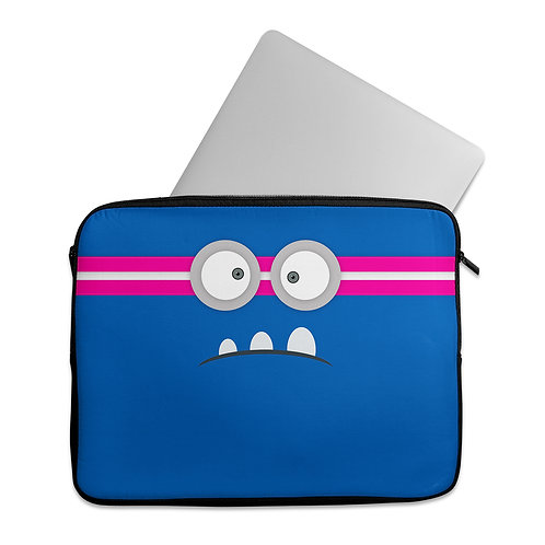 Laptop Sleeve Angry Face