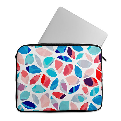 Laptop Sleeve Flower petals