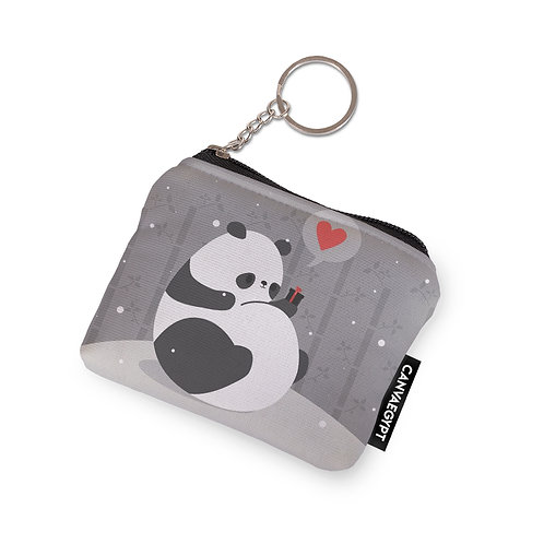 Coin Pocket Panda Gift Love