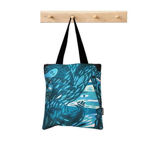 Tote Bag Life aquatic