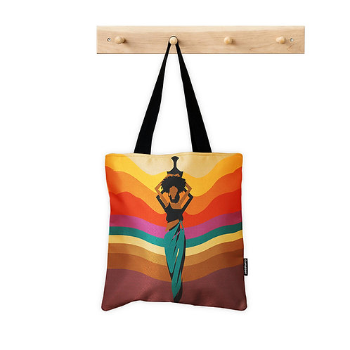 ToteBag African Lady
