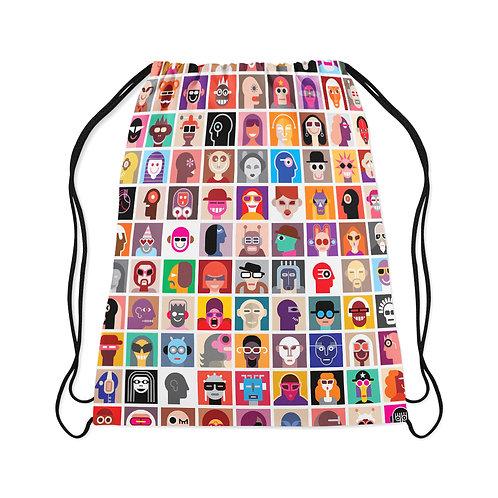 Drawstring Bag Aliens Portrait