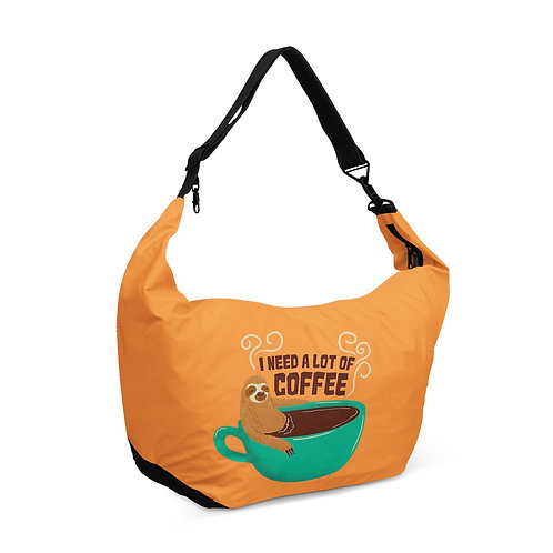 Crescent bag Need A Coffee