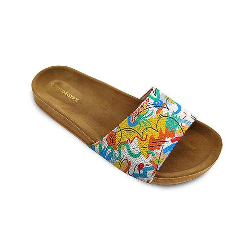 Slide Slipper Colorful