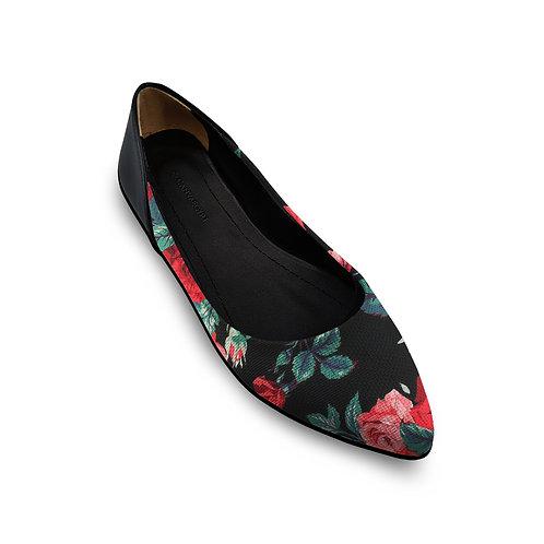 Flat Women's Shoe Flowers