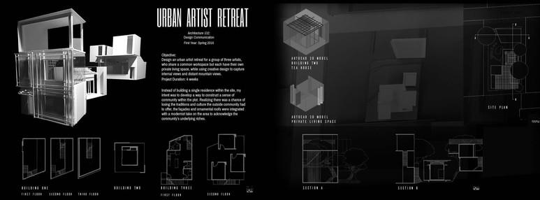artist collective housing (Spring 2016).