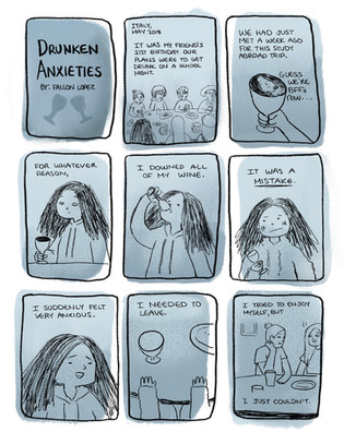 Drunken Anxieties pg. 1