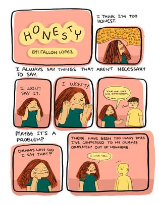 Honesty pg. 1