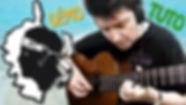 corsica spanish guitar fingerstyle tuto.